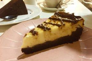 Tarta Brownie Cheese Cake - La Petite Brioche